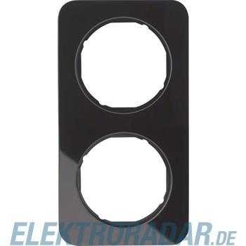 Berker Rahmen Glas/sw 10122116