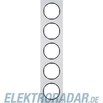 Berker Rahmen Alu/sw 10152284