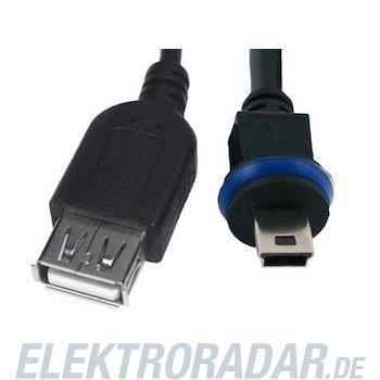 Mobotix Mini-USB-Kabel 2m MX-CBL-MU-STR-AB-2