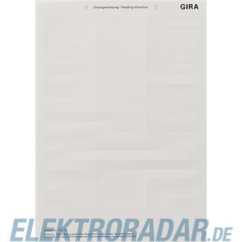 Gira Beschriftungsbogen 145100