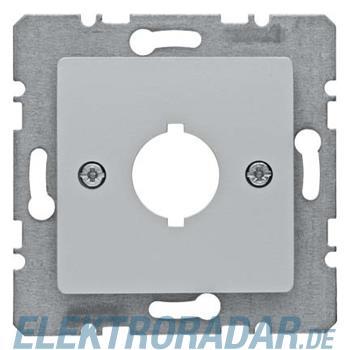 Berker Zentralplatte Alu 14317003