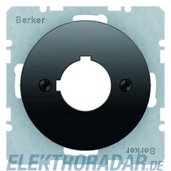 Berker Zentralplatte sw/gl 14322045