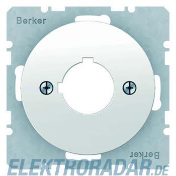 Berker Zentralplatte pows/gl 14322089
