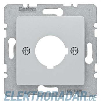 Berker Zentralplatte Alu 14327003