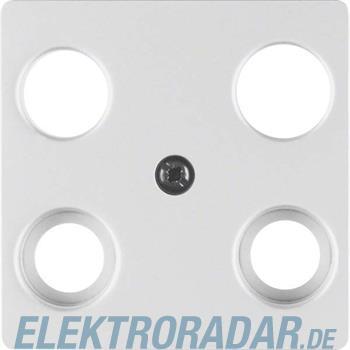 Berker Zentralplatte Alu 14837003