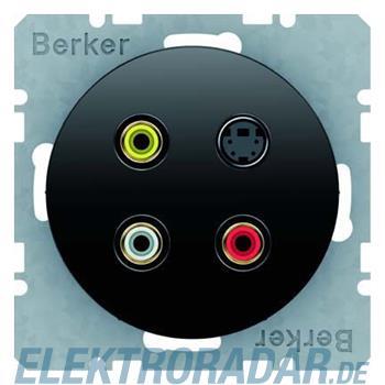Berker Cinch/S-Video-Dose sw/gl 3315322045
