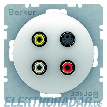 Berker Cinch/S-Video-Dose pows/gl 3315322089