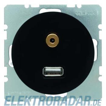 Berker USB/3,5mm Audio Steckdose 3315392045