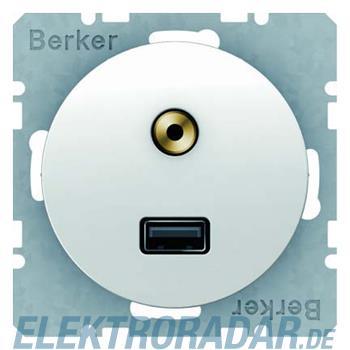 Berker USB/3,5mm Audio Steckdose 3315392089