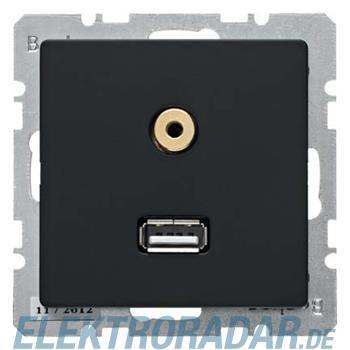 Berker USB/3,5mm Audio Steckdose 3315396086