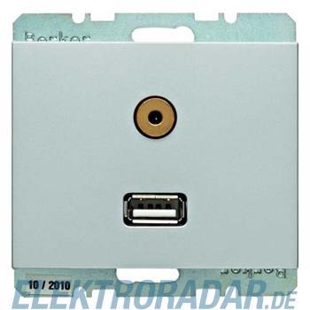 Berker USB/3,5mm Audio Steckdose 3315397003