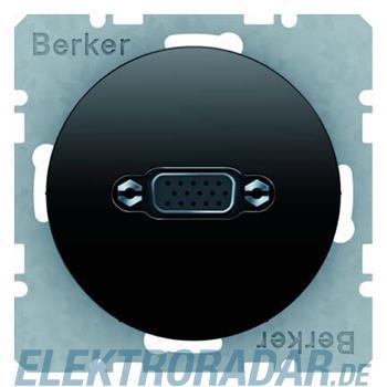Berker VGA Steckdose sw/gl 3315402045