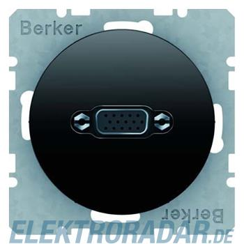 Berker VGA Steckdose sw/gl 3315412045