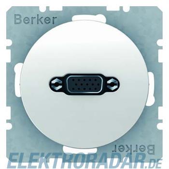 Berker VGA Steckdose pows/gl 3315412089