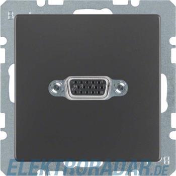 Berker VGA Steckdose anth/sa 3315416086