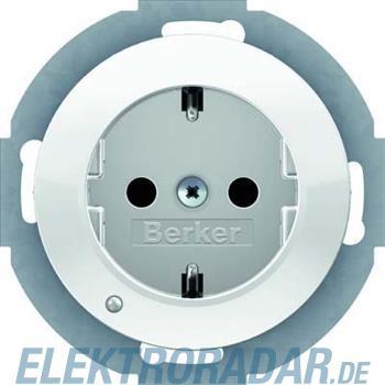 Berker SCHUKO-Steckdose pows/gl 41092089