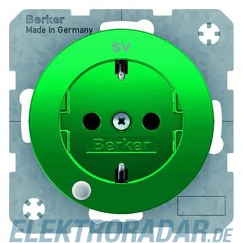 Berker SCHUKO-Steckdose gn/gl 41102003