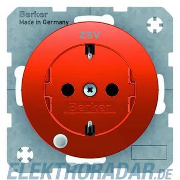 Berker SCHUKO-Steckdose or/gl 41102007