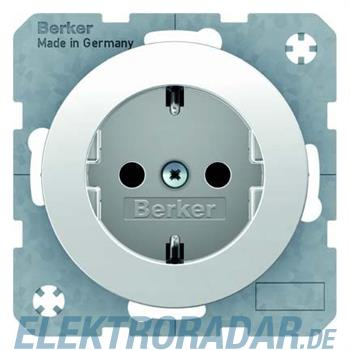Berker SCHUKO-Steckdose pows/gl 41232089