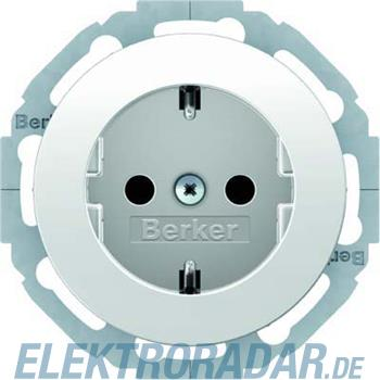 Berker SCHUKO-Steckdose pows/gl 41452089