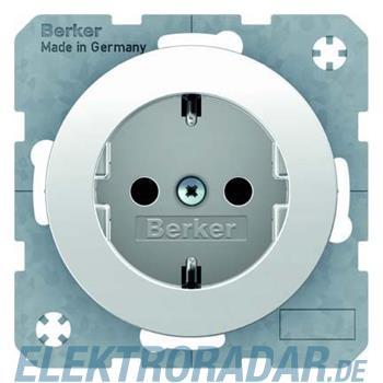 Berker SCHUKO-Steckdose pows/gl 47232089