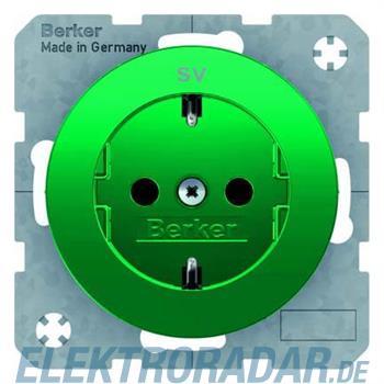 Berker SCHUKO-Steckdose gn/gl 47432003