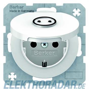 Berker SCHUKO-Steckdose pows/gl 47442079