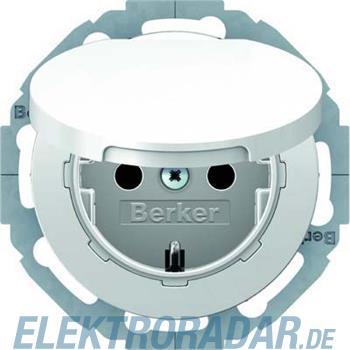 Berker SCHUKO-Steckdose pows/gl 47442089