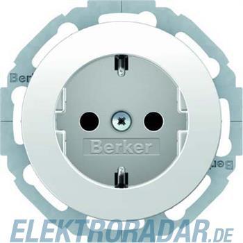 Berker SCHUKO-Steckdose pows/gl 47452089