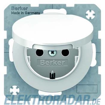 Berker SCHUKO-Steckdose pows/gl 47512089