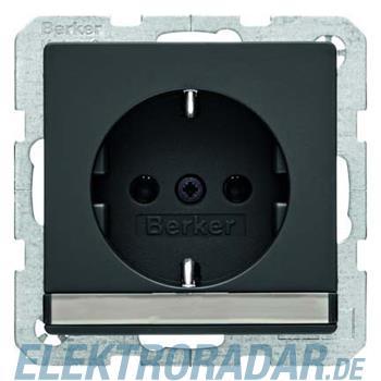 Berker SCHUKO-Steckdose anth/sa 47526086