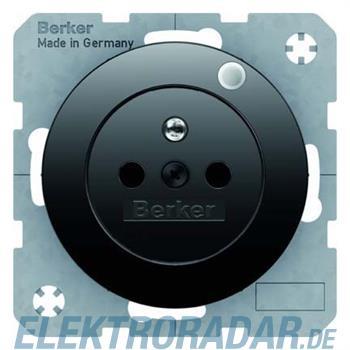 Berker Steckdose sw/gl 6765092045