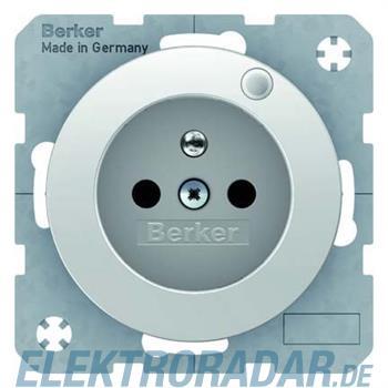 Berker Steckdose pows/gl 6765092089