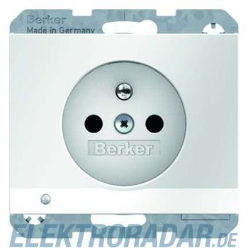 Berker Steckdose pows/gl 6765107009