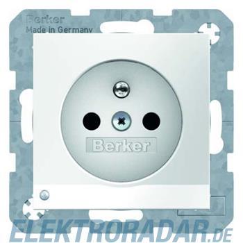 Berker Steckdose pows/gl 6765108989