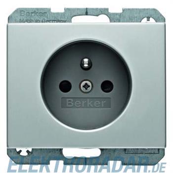 Berker Steckdose Alu 6765757003