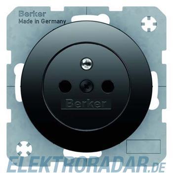 Berker Steckdose sw/gl 6768762045