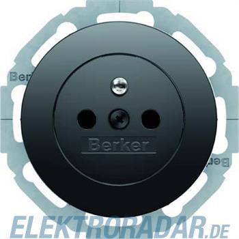 Berker Steckdose sw/gl 6768792045