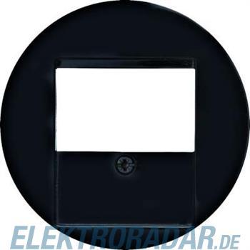 Berker Zentralstück sw/gl 6810332045