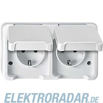 Merten SCHUKO-Doppel-Steckdose MEG2320-8019