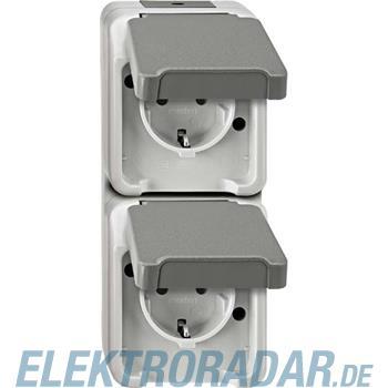 Merten SCHUKO-Doppel-Steckdose MEG2329-8029