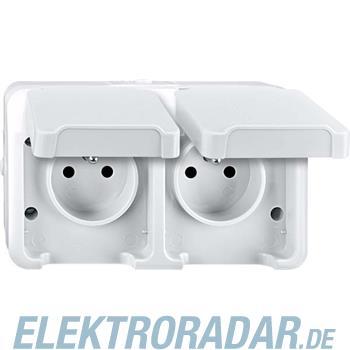 Merten Doppelsteckdose MEG2520-8019