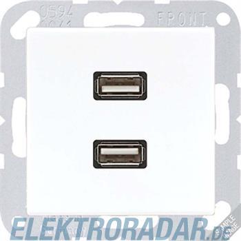 Jung Multimediadose 2 x USB MA A 1153 ANM
