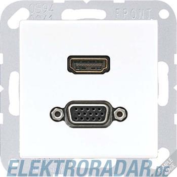 Jung Multimediadose HDMI + VGA MA A 1173 ANM