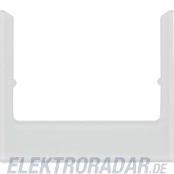 Berker Rahmen eckig alu Glas 13196414