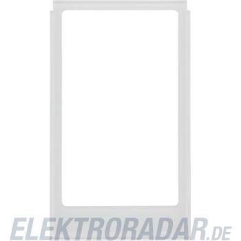 Berker Rahmen eckig alu Glas 13206414