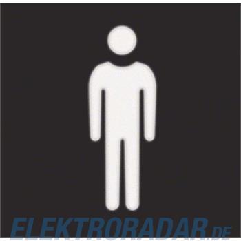 Berker Folie mit Symbol Mann 19058001
