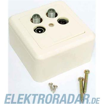 E+P Elektrik Twin SAT-Antennendose BKV 19