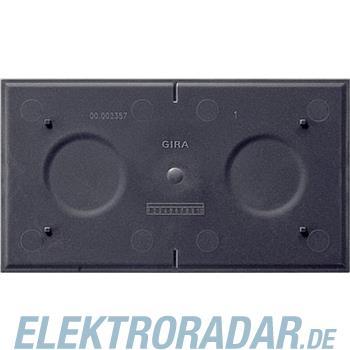 Gira Bodenplatte f.Rahmen 2f. 108400