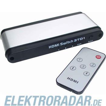 E+P Elektrik HDMI-Umschalter HDMI 31 si/sw